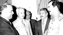 Saddam'la barış