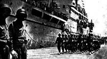 Türk askeri 82 yıl sonra Kıbrıs'a ayak bastı