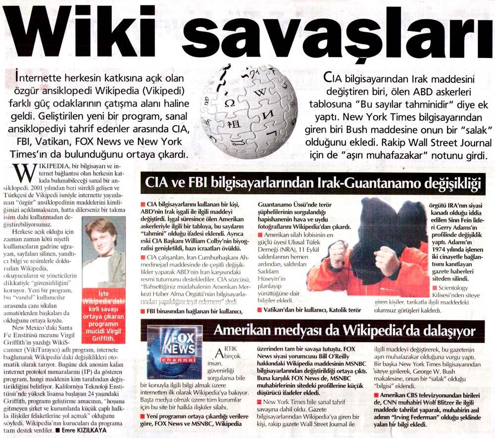 Wiki savaşları