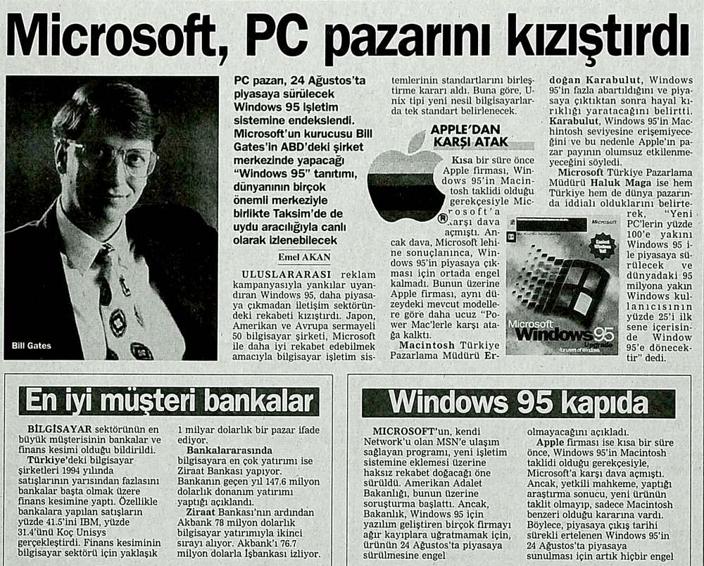 Microsoft, PC pazarını kızıştırdı