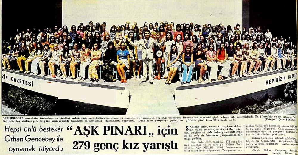 ''Aşk Pınarı'' için 297 genç kız yarıştı