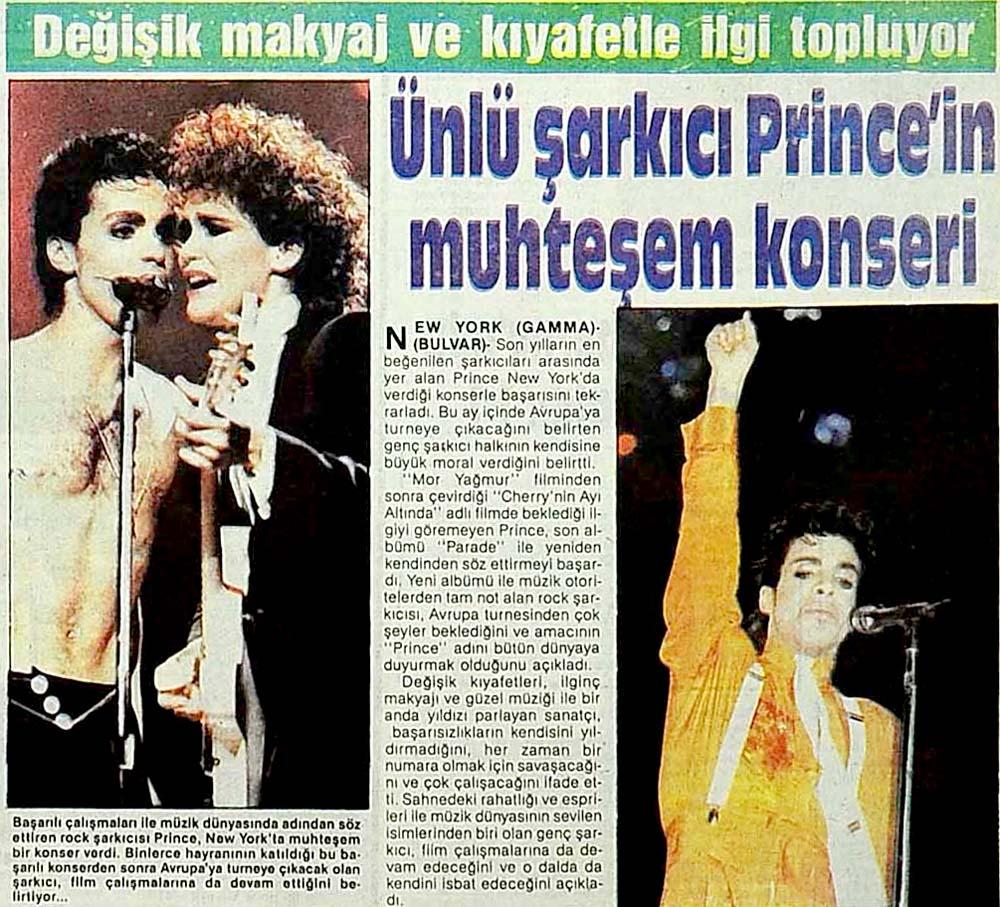Prince'in muhteşem konseri