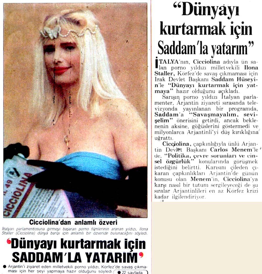 ''Saddam'la yatarım''