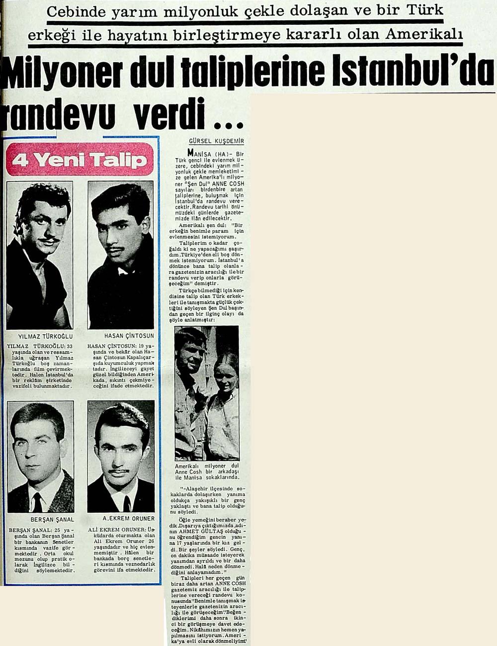 Milyoner dul taliplerine İstanbul'da randevu verdi...
