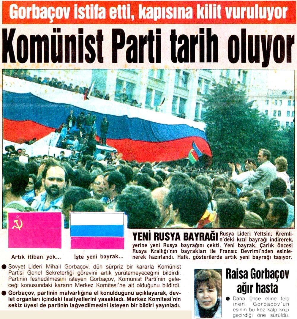 Komünist Parti tarih oluyor