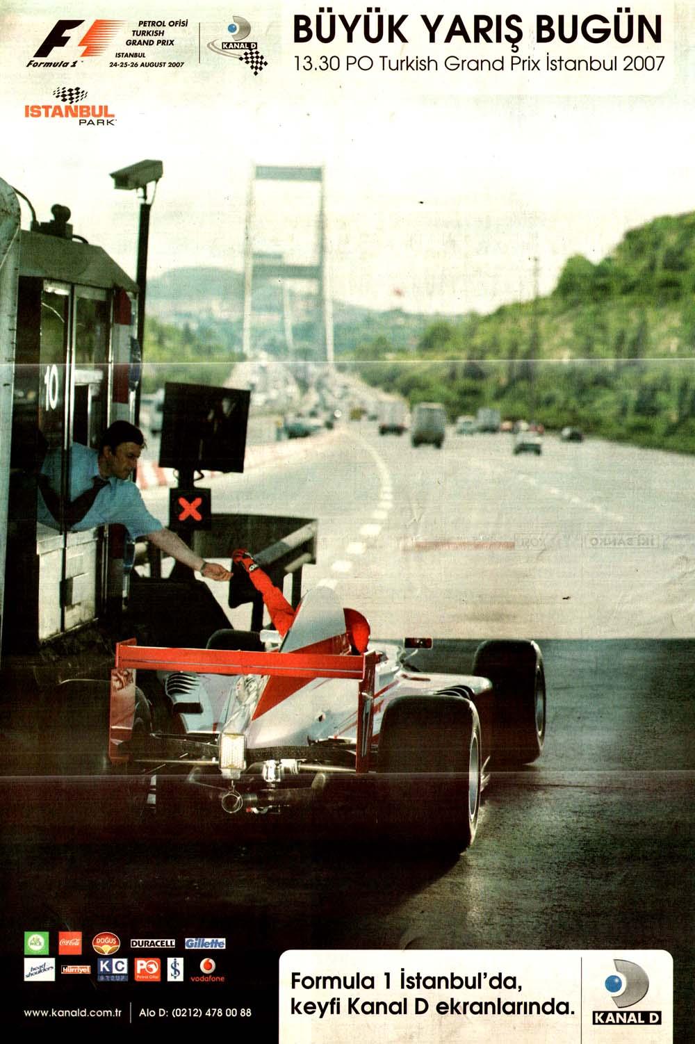 Formula 1 İstanbul'da