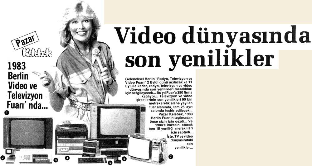 Video dünyasında son yenilikler