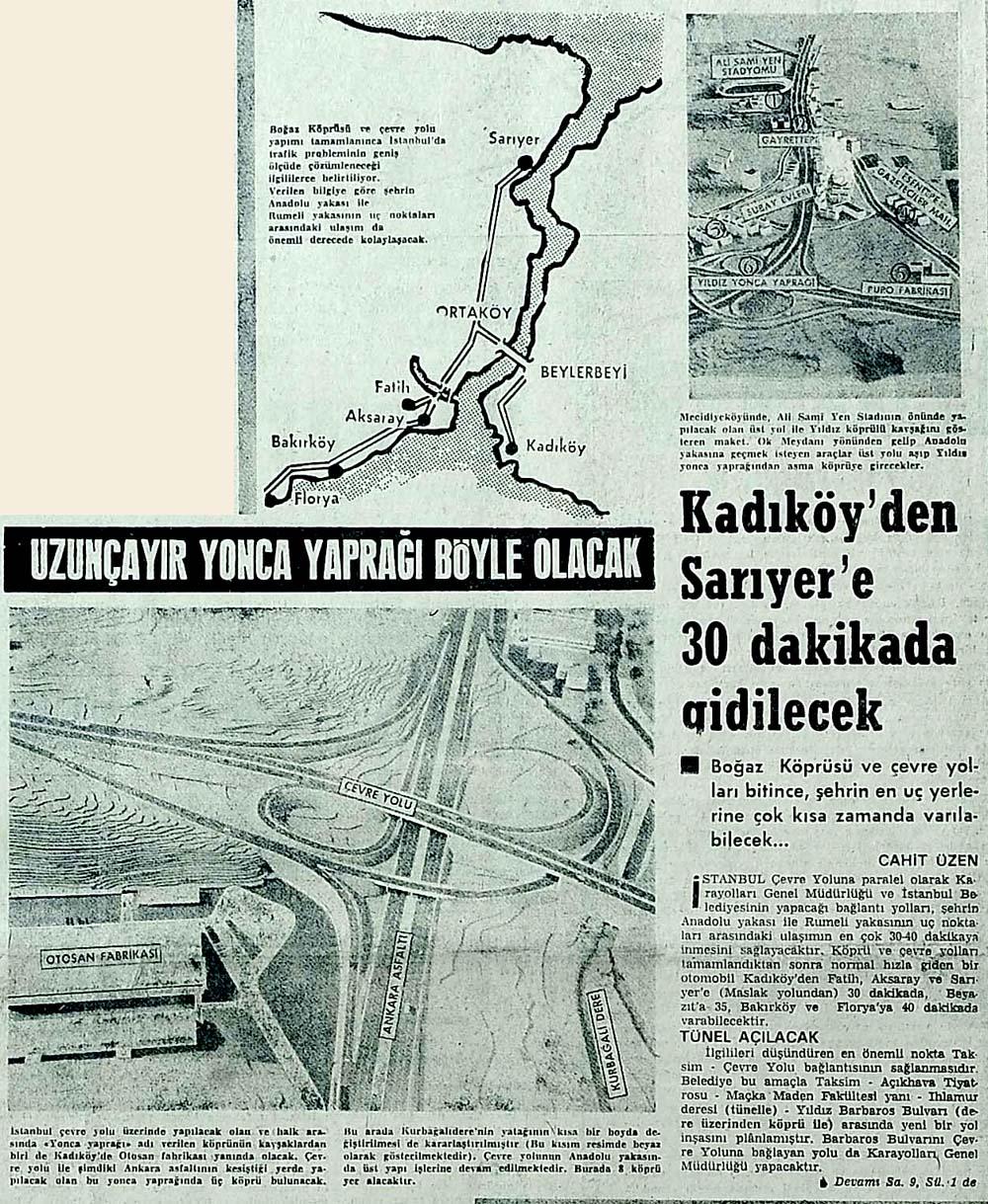 Kadıköy'den Sarıyer'e 30 dakikada gidilecek
