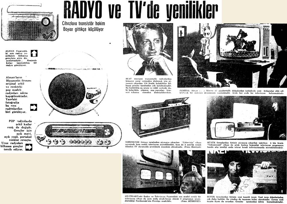 Radyo ve Tv'de yenilikler