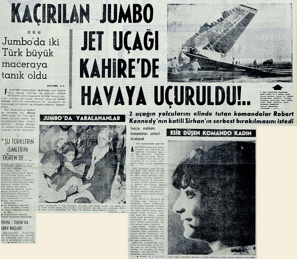 Kaçırılan jumbo jet uçağı Kahire'de havaya uçuruldu!..