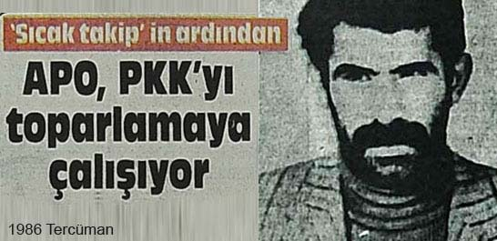 Apo, PKK'yı toparlamaya çalışıyor