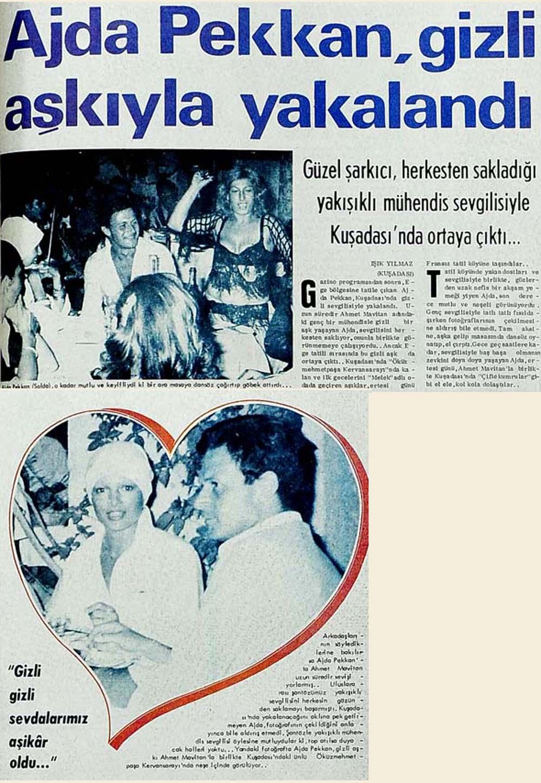 Ajda Pekkan'ın gizli aşkı