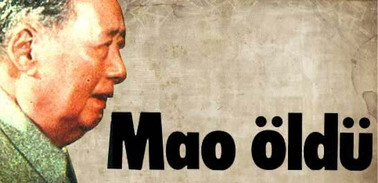 Mao öldü
