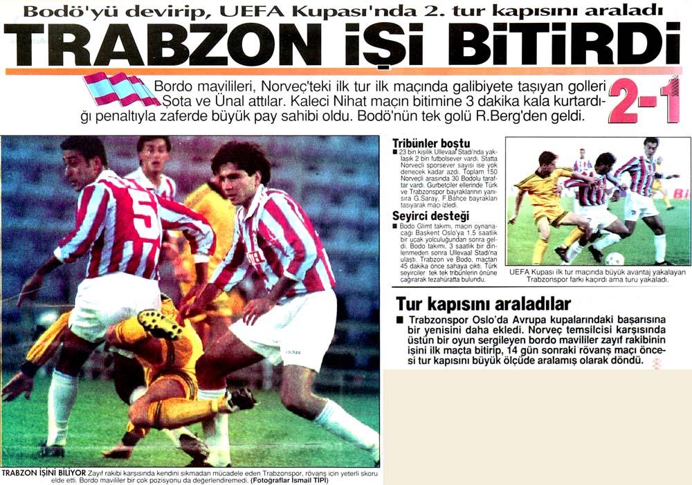 Trabzon işi bitirdi