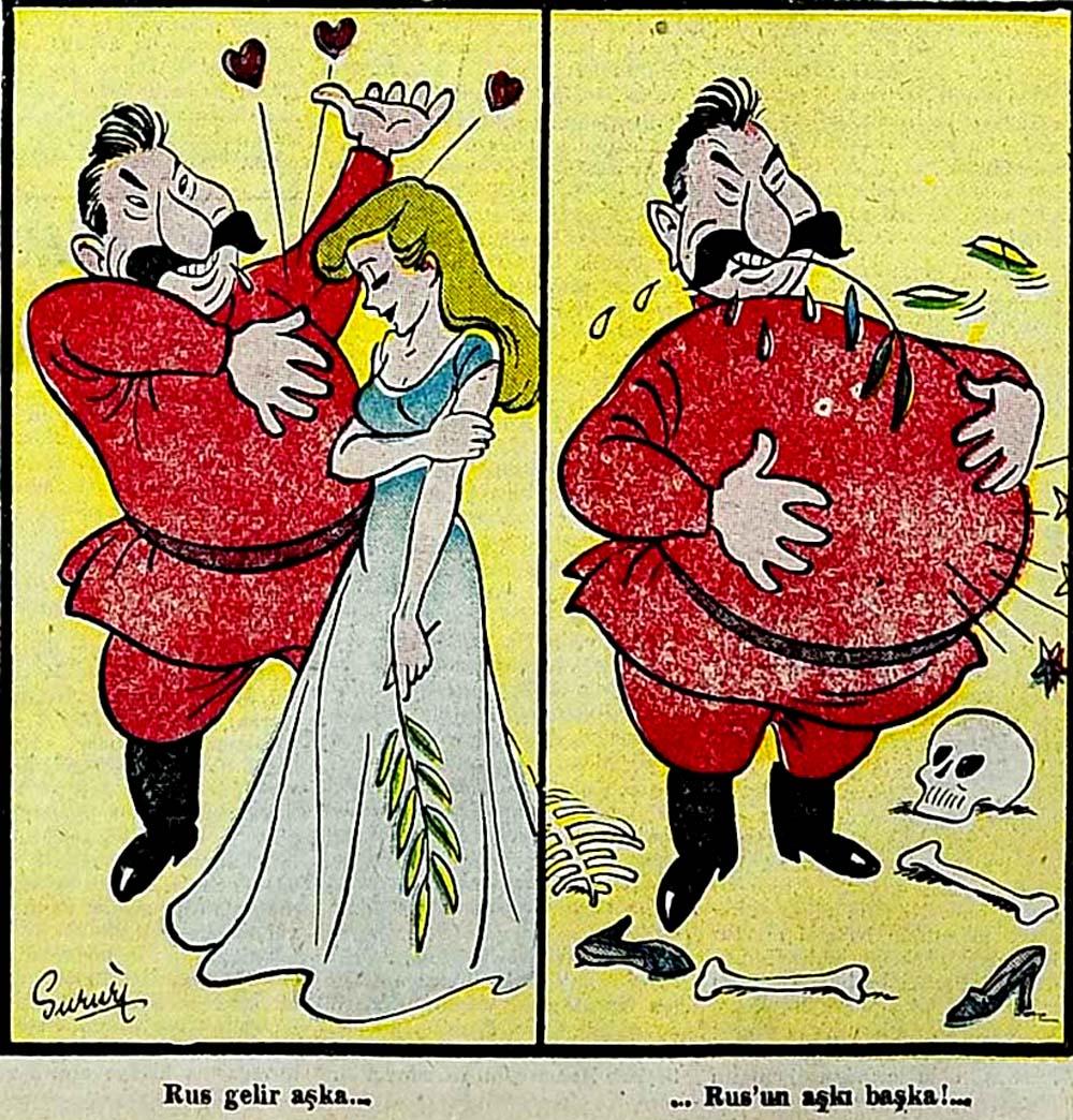 Rus'un aşkı başka!...