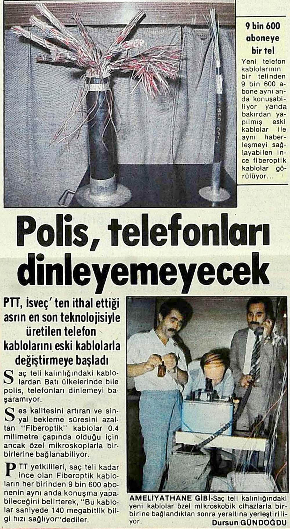 Polis, telefonları dinleyemeyecek