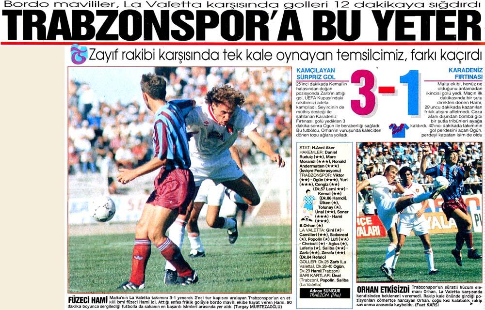 Trabzonspor'a bu yeter