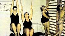 Beş kilo vermek için, birazcık jimnastik yapmak yetiyordu...
