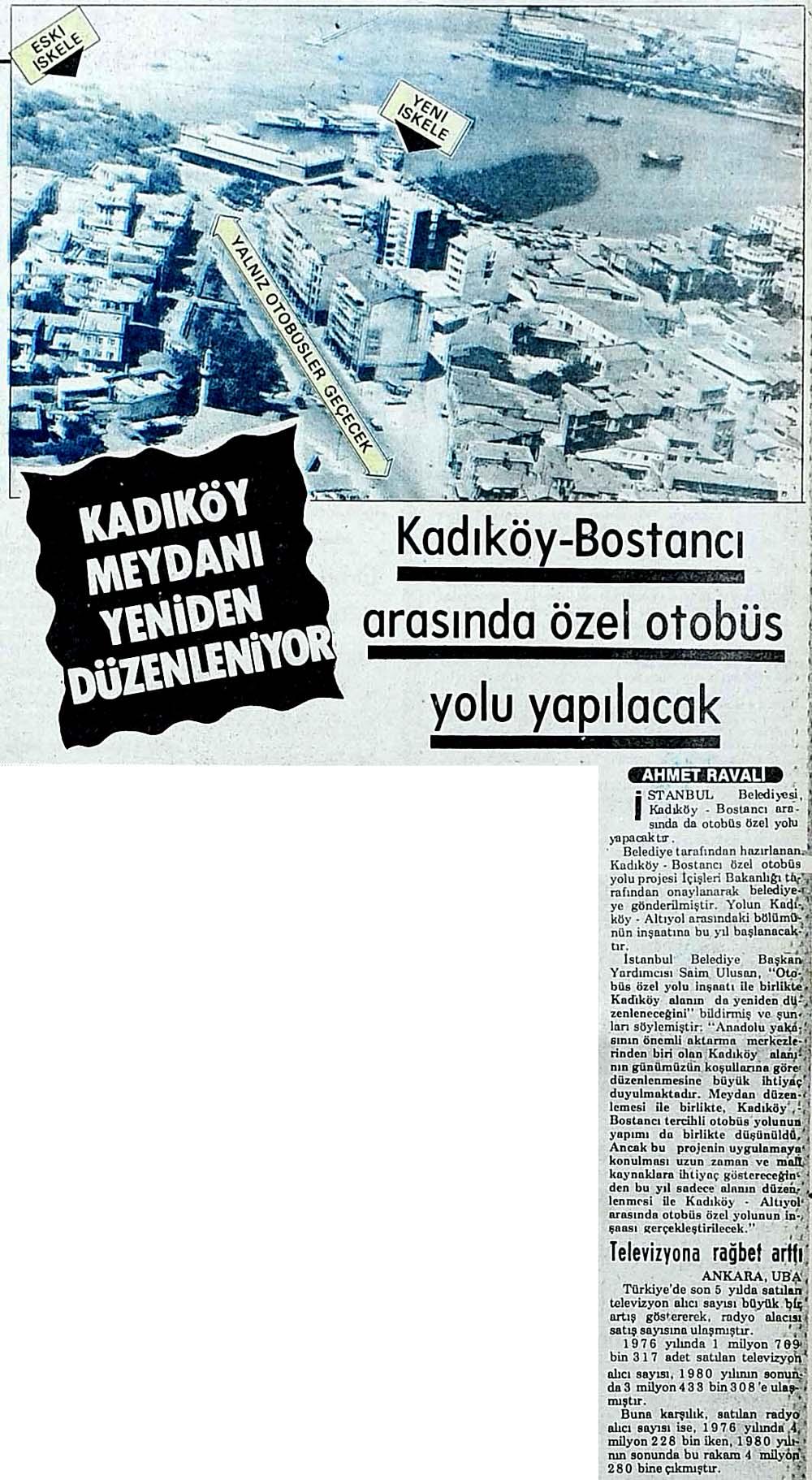 Kadıköy-Bostancı arasında özel otobüs yolu yapılacak