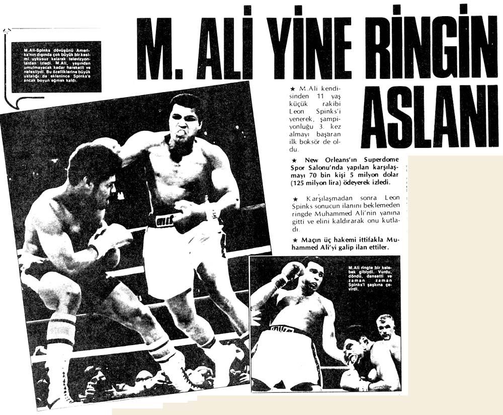 M.Ali yine ringin aslanı