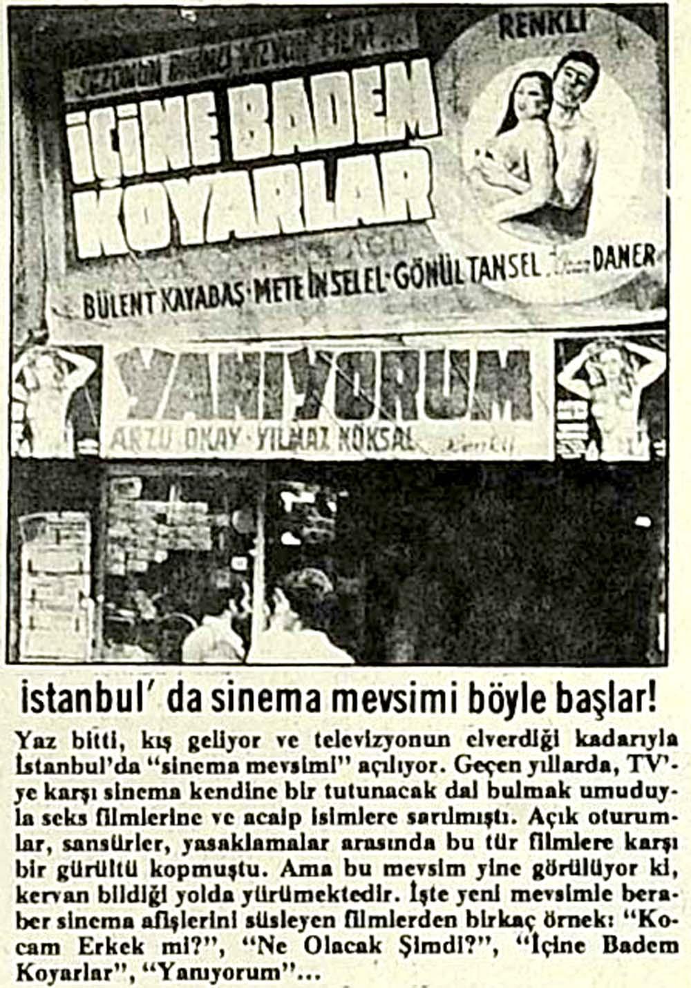 İstanbul'da sinema mevsimi böyle başlar!