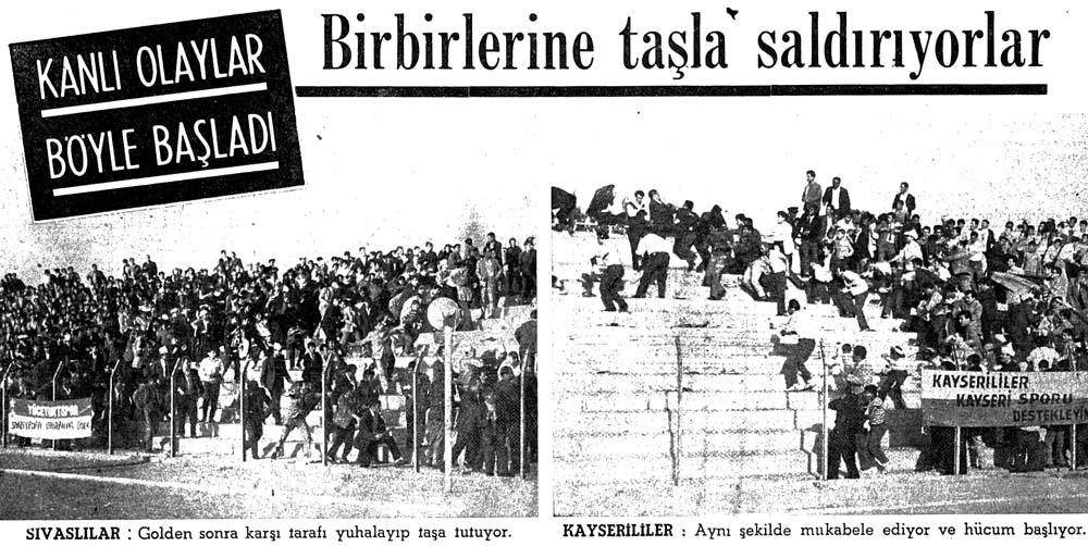 Sivas'ta dün Kayseri'lilere ait dükkanlar ateşe verildi