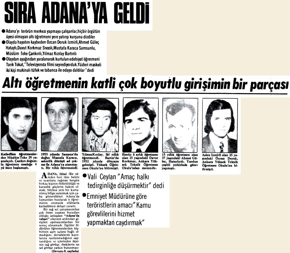 Sıra Adana'ya geldi