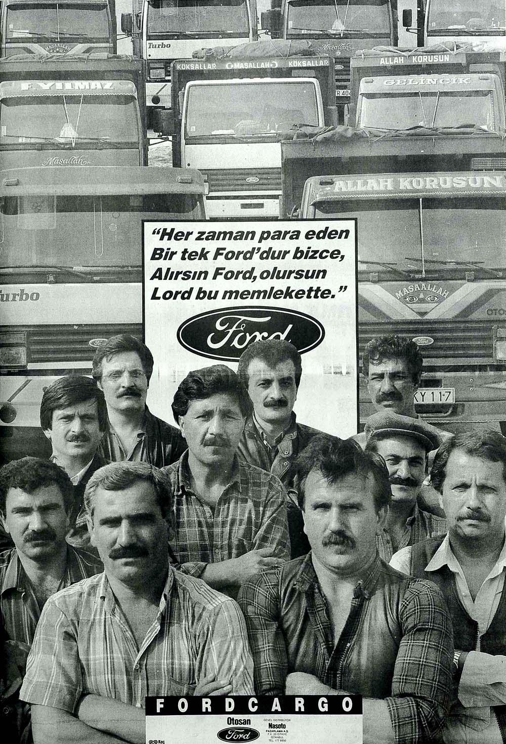 Alırsın Ford, olursun Lord bu memlekette