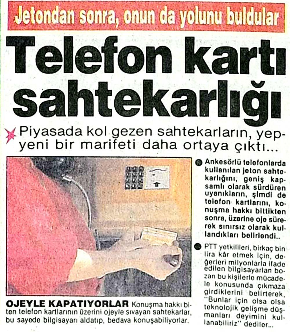 Telefon kartı sahtekarlığı