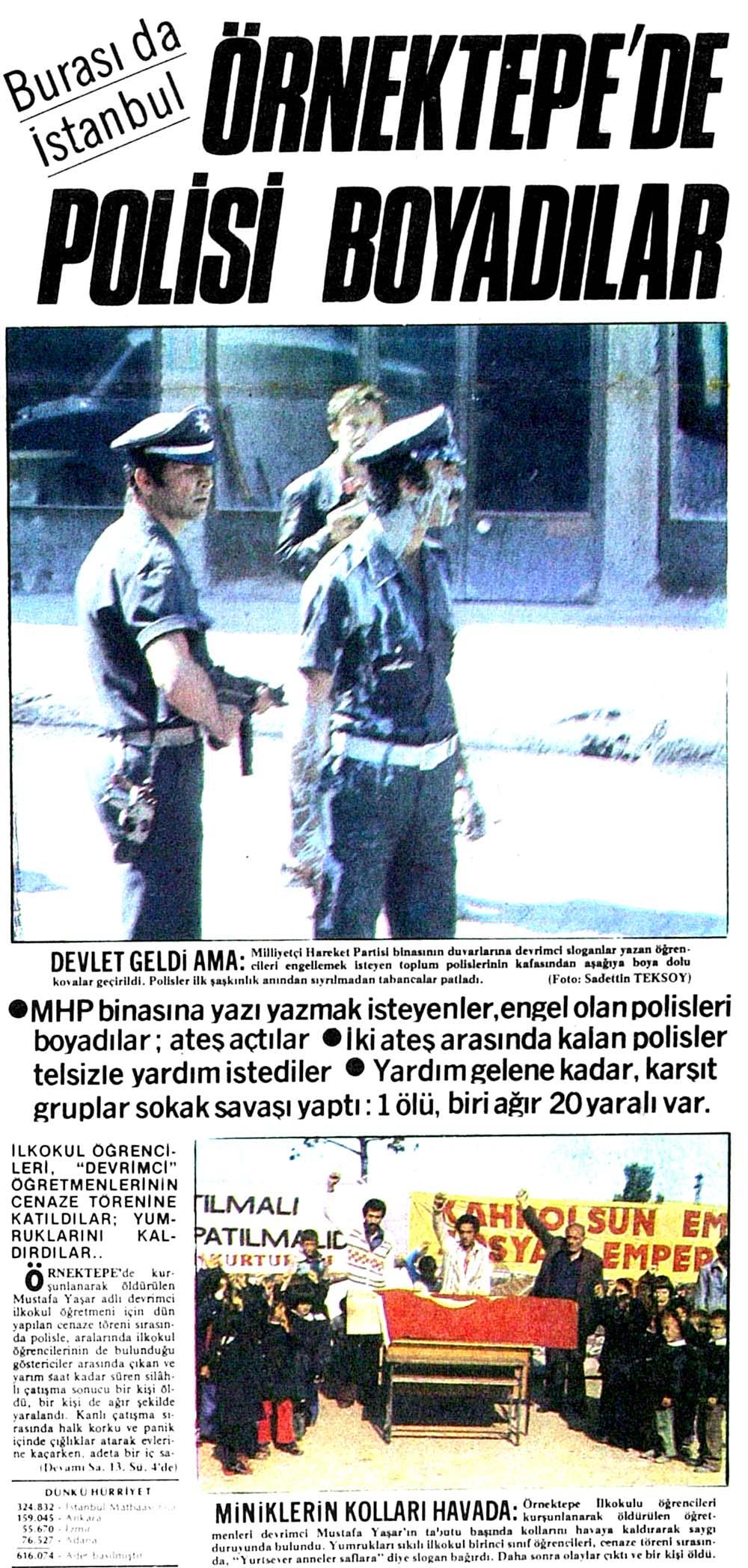 Göstericiler İstanbul