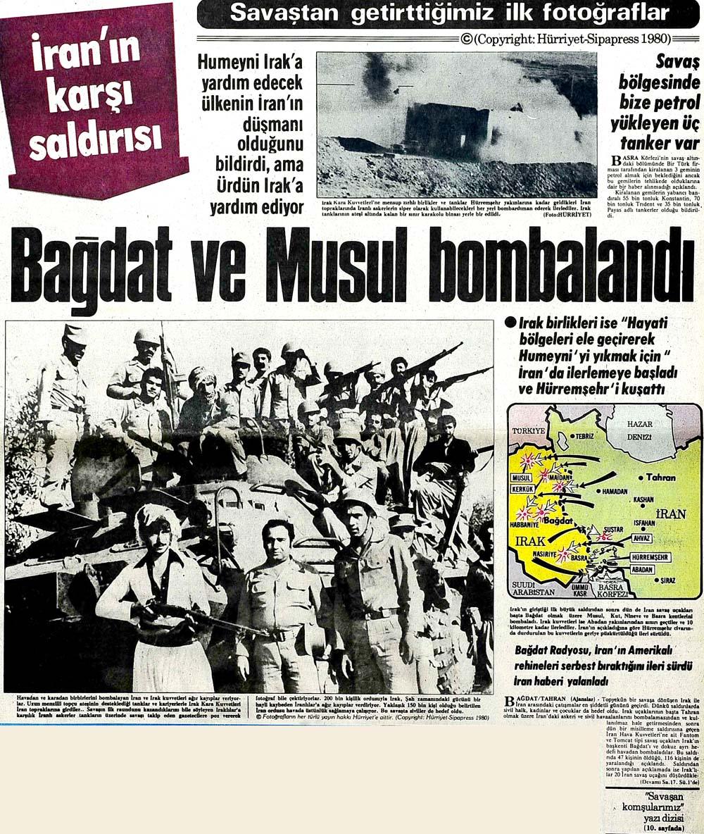 Bağdat ve Musul bombalandı
