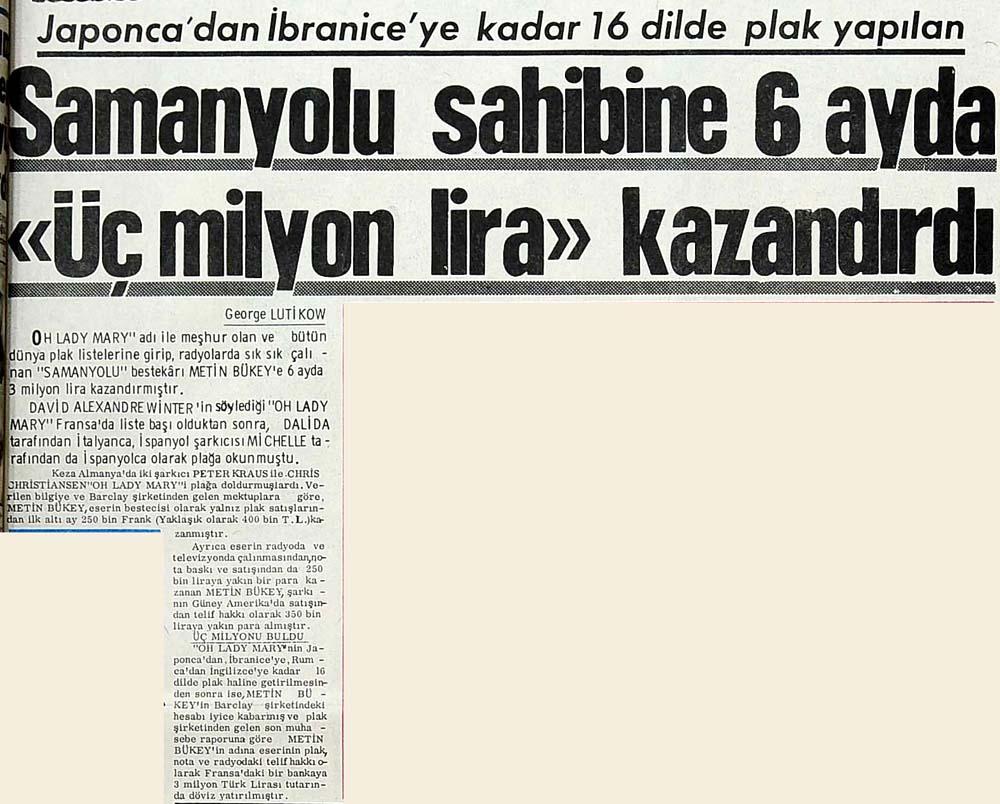 """Samanyolu sahibine 6 ayda """"Üç milyon lira"""" kazandırdı"""