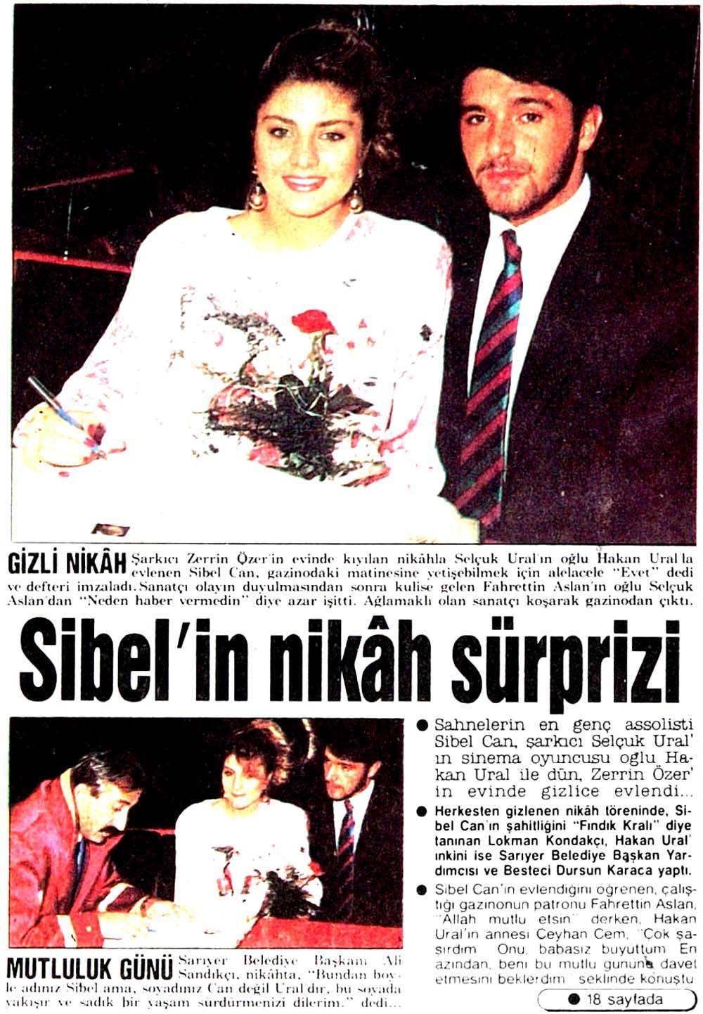 Sibel'in nikah sürprizi