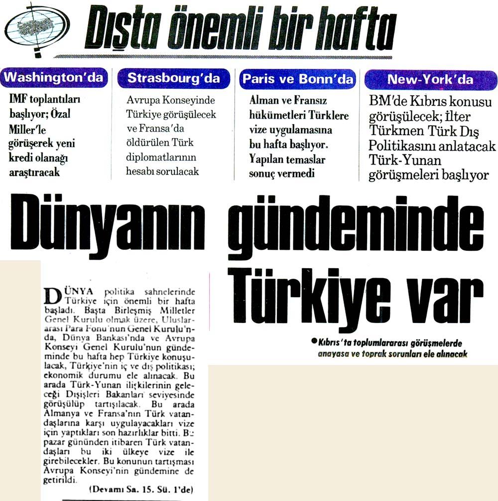 Dünyanın gündeminde Türkiye var