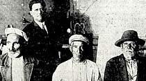 Adanadan gelen üç Türk
