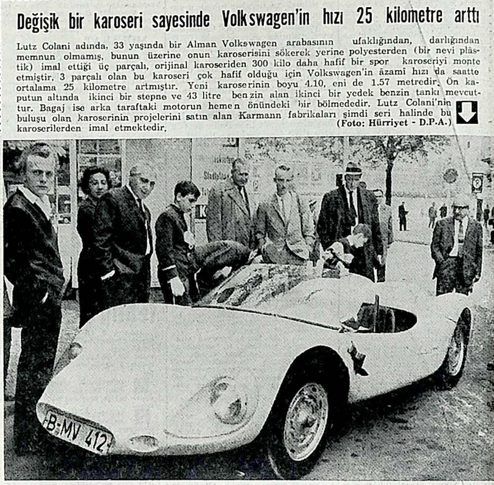 Volkswagen'in hızı 25 kilometre arttı