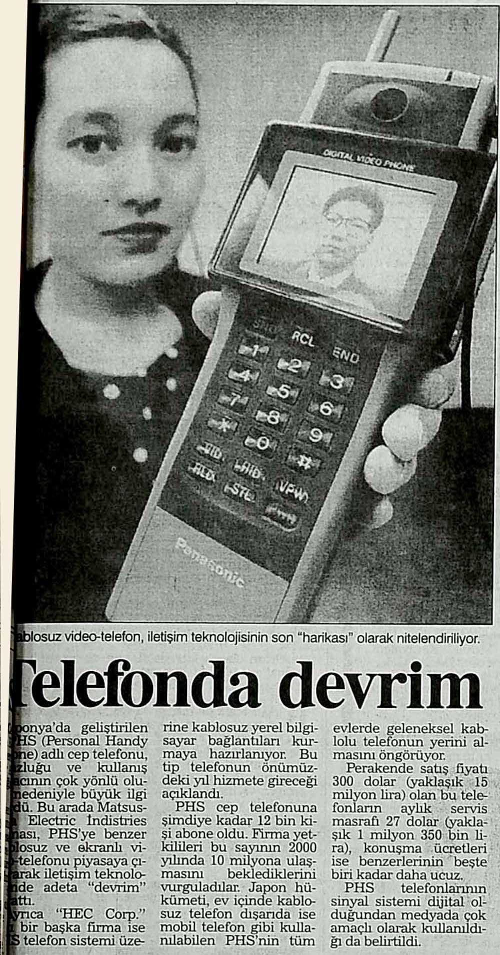 Telefonda devrim