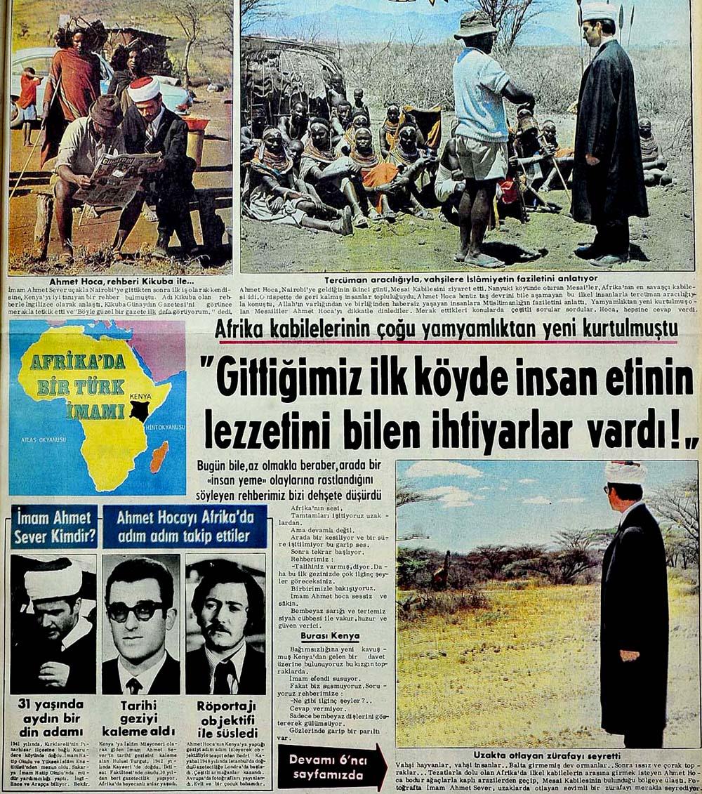 Afrika'da Bir Türk İmamı