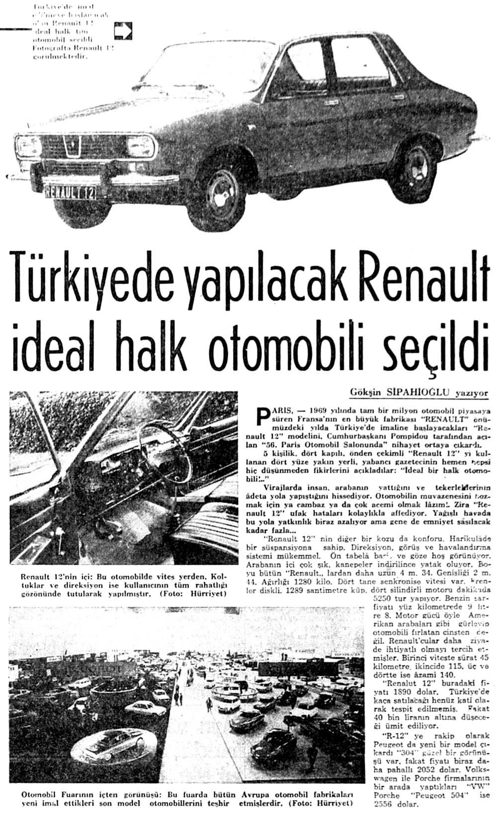 Türkiyede yapılacak Renault ideal halk otomobili seçildi