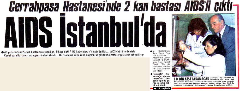 AIDS İstanbul'da
