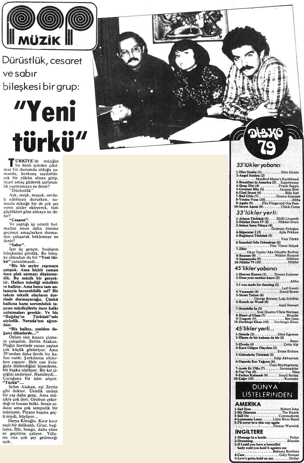 """""""Yeni türkü"""""""