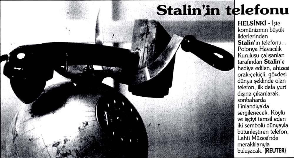 Stalin'in telefonu