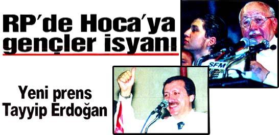 RP'de Hoca'ya gençler isyanı