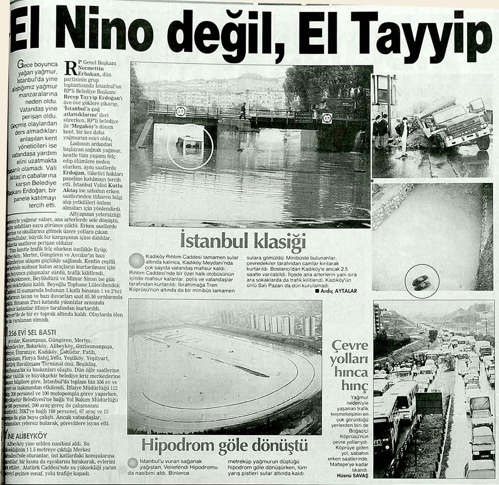 El Nino değil, El Tayyip