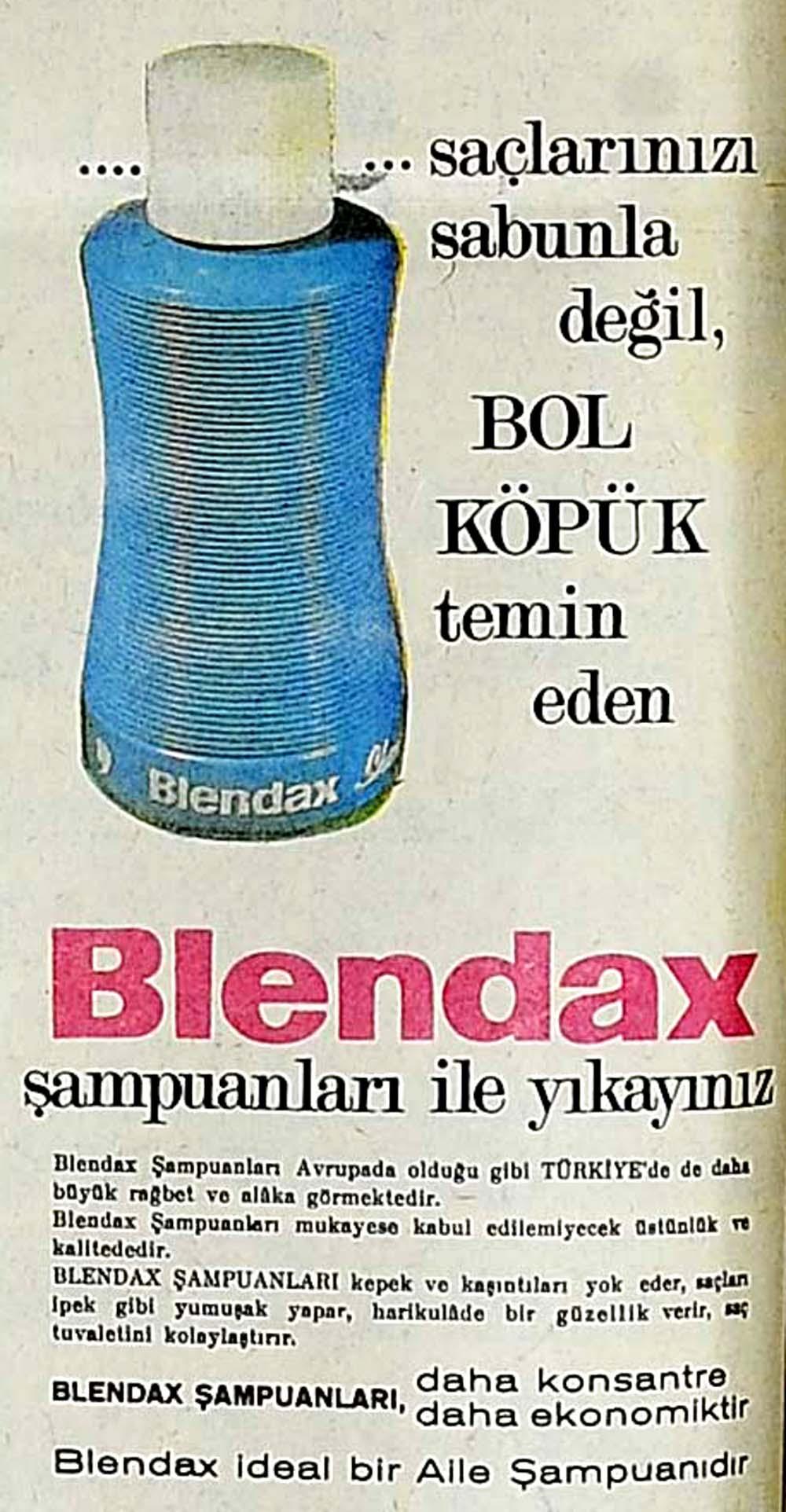 Blendax şampuanları