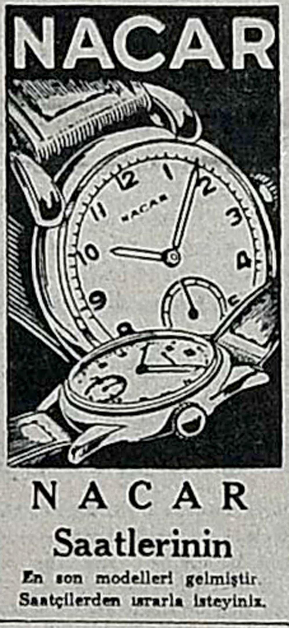 Nacar Saatlerinin En son modelleri gelmiştir