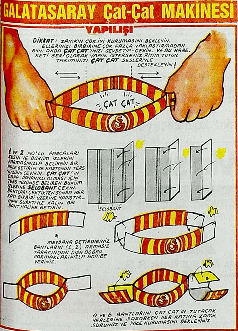 Galatasaray Çat-Çat Makinesi