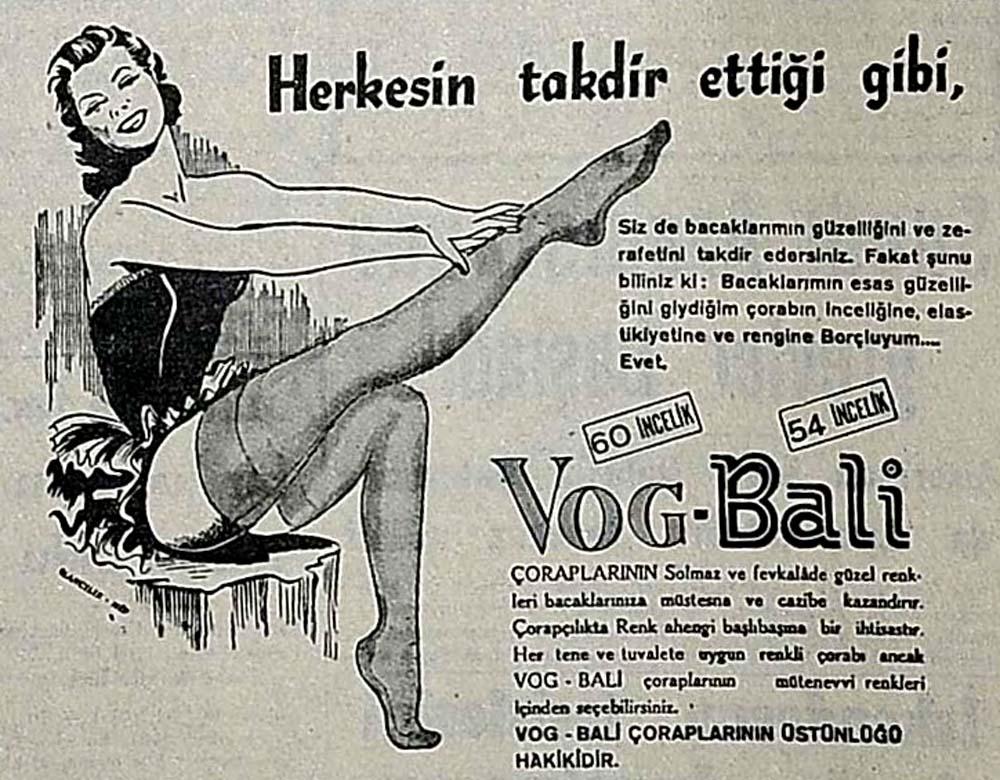 Vog-Bali Çorapları
