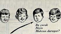 Şu neş'eli çocuklar arasında: Bu çocuk Niçin Mahzun duruyor?