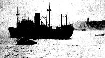 Amerikan gemileri, ilk Rus şilebine doğru yol alıyor